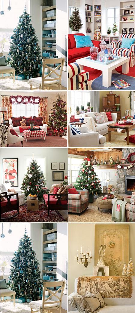 Decoraci n de navidad para el sal n decorando mejor for Decoracion de salon navideno