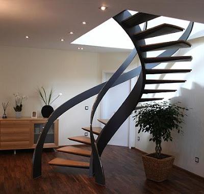 The Home Populars 5 Escaleras De Espiral - Escaleras-en-espiral