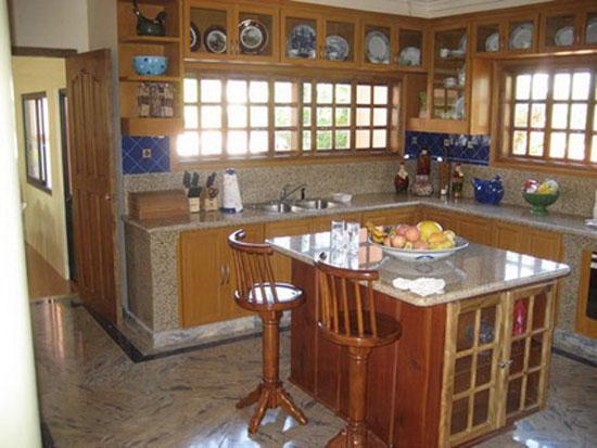 Pon linda tu casa decoracion de cocinas for Decoracion de casas tipo hacienda