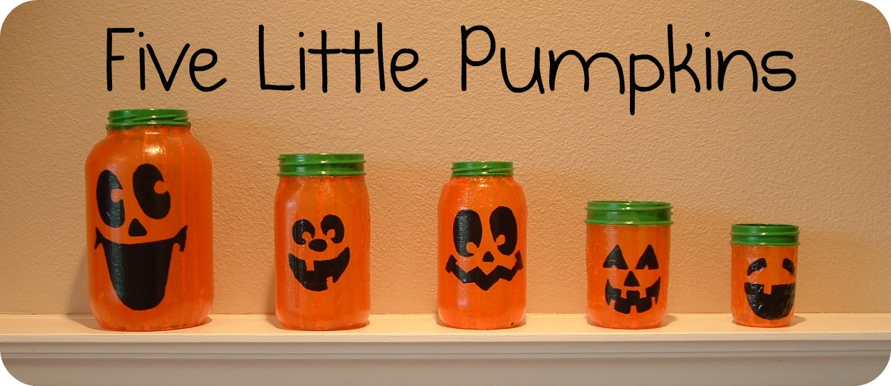 Pieces by Polly: Five Little Pumpkins...