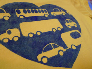 from the Helping Little Hands Car Love T-shirt post