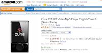 Zune 120GB at Amazon