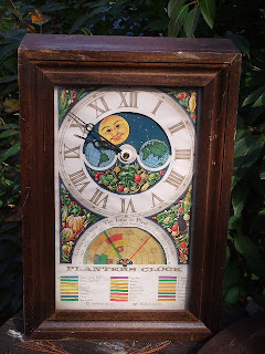 Buy Gone Pasts Collectibles Vintage Planters Clock
