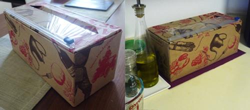 Coffeetalk in NYC: Idea for the Costco's plastic food wrap
