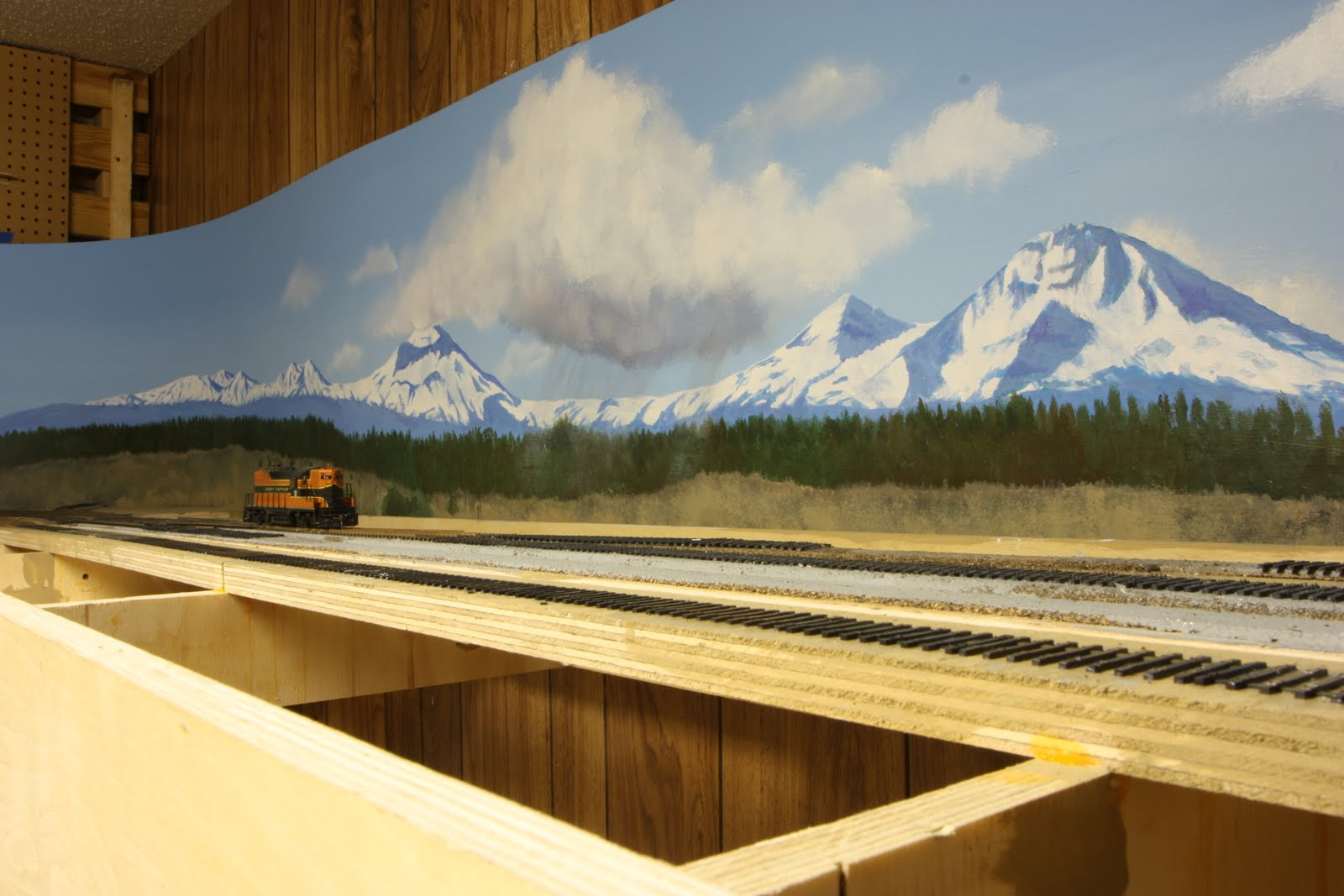 Backdrop for the cop shelf layout model railroad - Model railroad backdrops ...