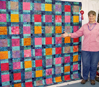 Layne's Quilt by Robin Atkins, exhibited at 2007 County Fair