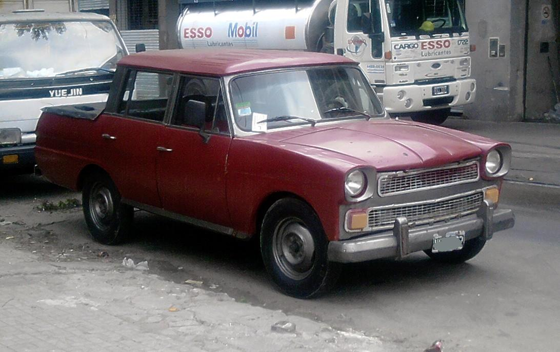 Venta De Autos >> Fosiles mecanicos: Rastrojero doble cabina