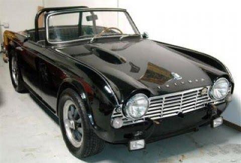 Vintage Triumph Car 109