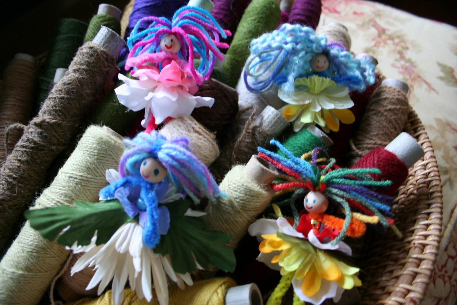 EASY Kid Craft Pipe Cleaner Flower Fairies