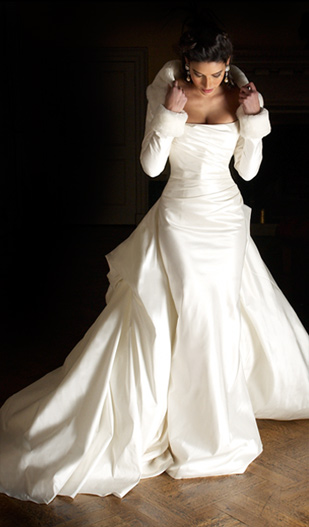 Bride Chic The Winter Wedding Gown