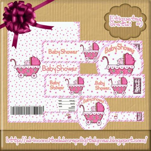 Etiquetas Para Chocolate Baby Shower