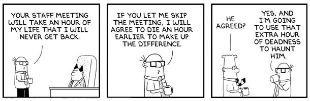 20 Dilbert Comic Strips to Make Life of Salespeople Easy ... |Dilbert Break