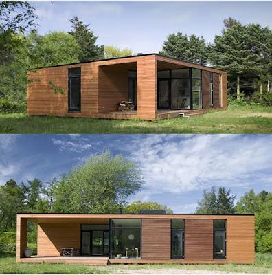 Pxu casa prefabricada onv arkitekter - La casa prefabricada ...