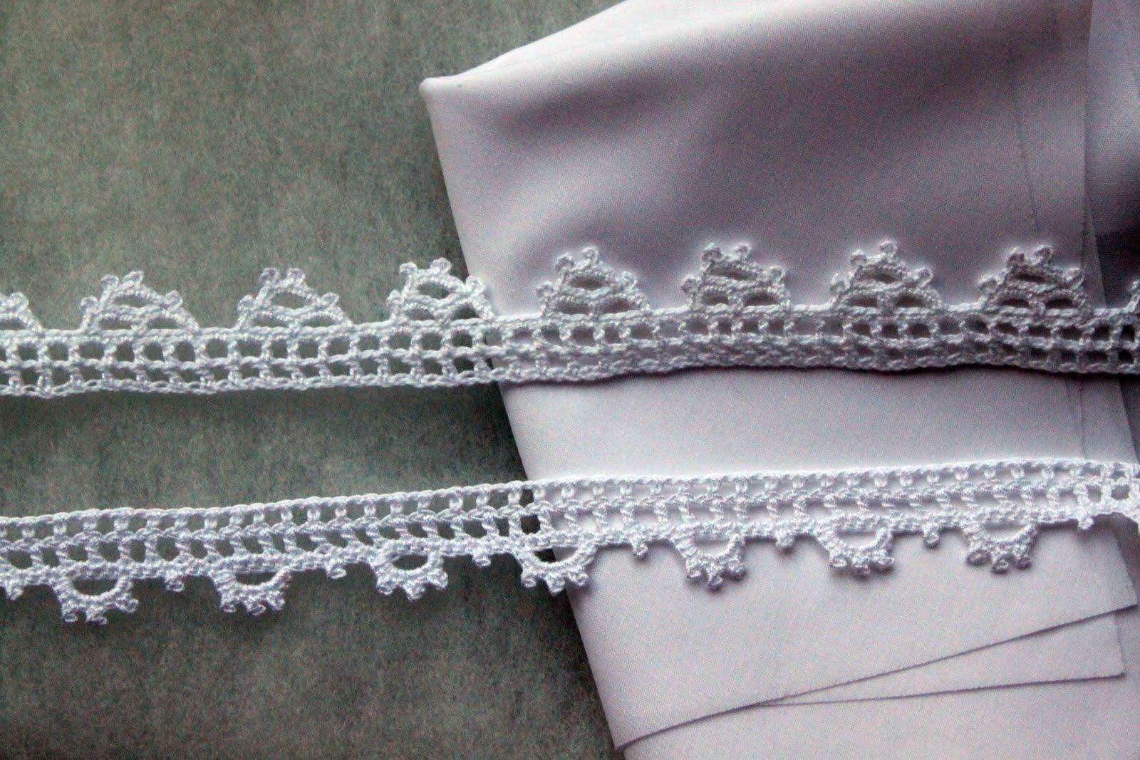 Irish Crochet Edging Patterns – Easy Crochet Patterns