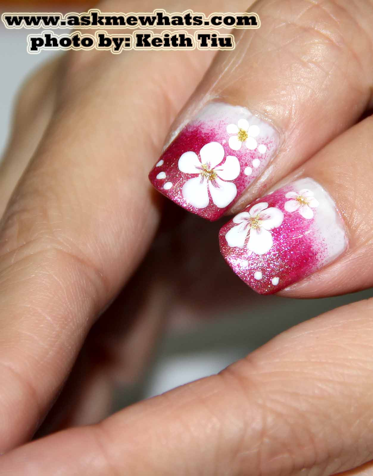 Hawaiian Flower Nails Designs | Joy Studio Design Gallery ...