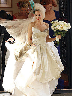 Fsb Afternoon Buzz Nina Ricci Carrie S Wedding Dress And Worshiping Kate Moss