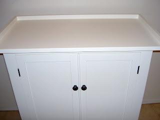 hardware cabinet after