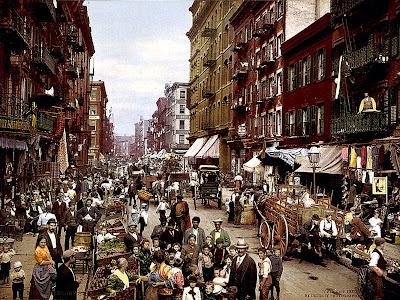 Mulberry Street NYC c1900