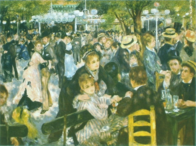 Renoir, Dance at Le Moulin de la Galette