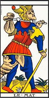 The Tarot de Marseille: Fool ('Le Mat').