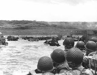 D-Day: Soldiers on a Landing Craft, Photo Courtesy of U.S. Army