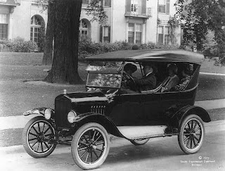 Ford Model T 'Tin Lizzies' Credit Line: Library of Congress, Prints & Photographs Division, [reproduction number, LC-USZ62-62258]