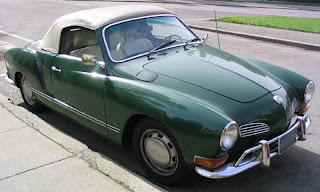 Karmann Ghia roadster, Photo taken by en:User:Minesweeper on February 29, 2004 and released into the public domain