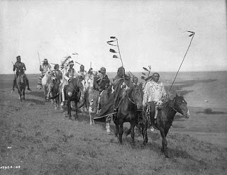 Native American Heritage On the war path