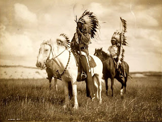 Native American Heritage Month Sioux Chiefs, Library of Congress, Prints & Photographs Division, [reproduction number, LC-USZC4-12466]
