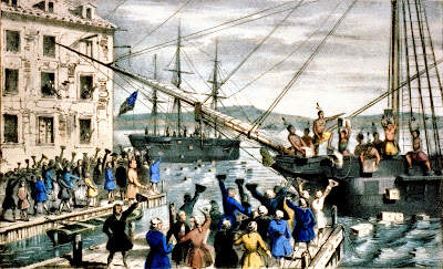 The Destruction of Tea at Boston Harbor The Boston Tea Party