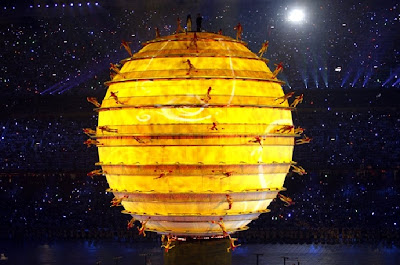 Olympics Opening Ceremony Illuminated Sphere