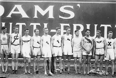 American Olympic team with Jim Thorpe
