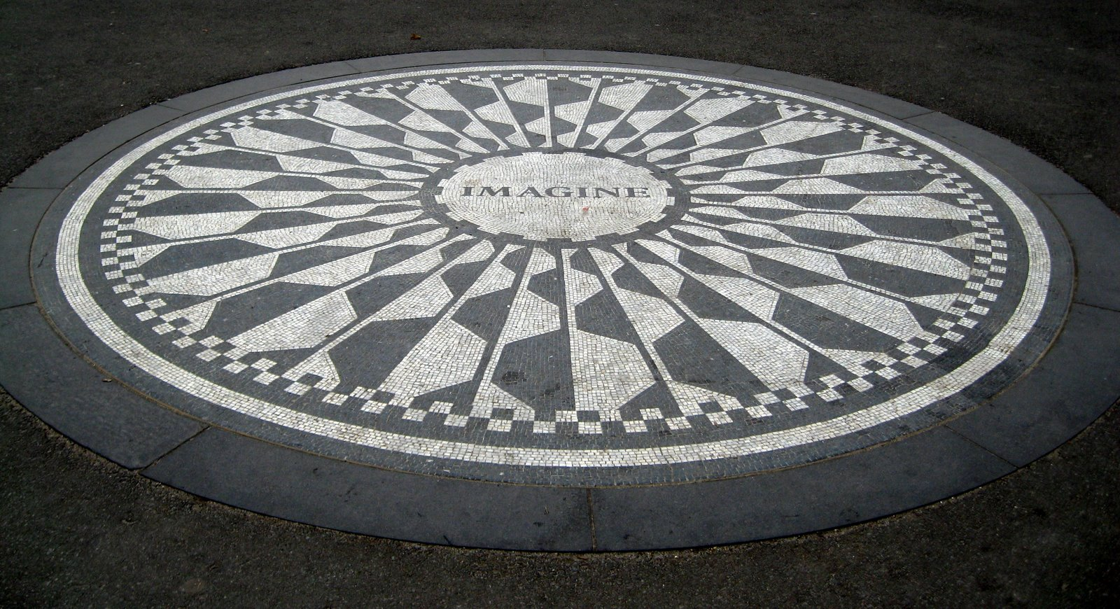 Imagine Memorial Strawberry Fields Central Park