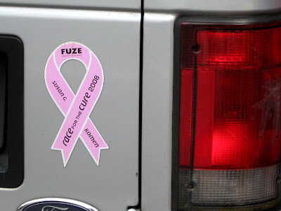 Race for the Cure Bumper Sticker