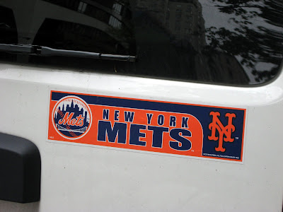 New York Mets Bumper Sticker