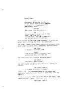 Page from the script for The Dark Knight