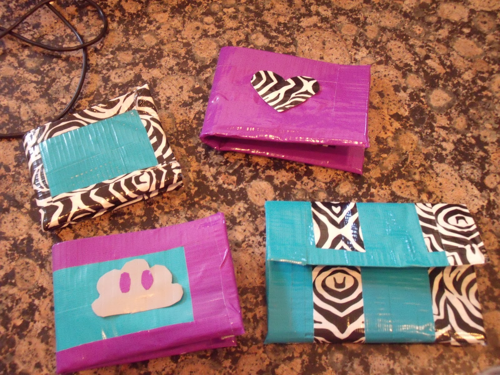 Circle the World In Big: Latest duct tape creations |Duct Tape Creations