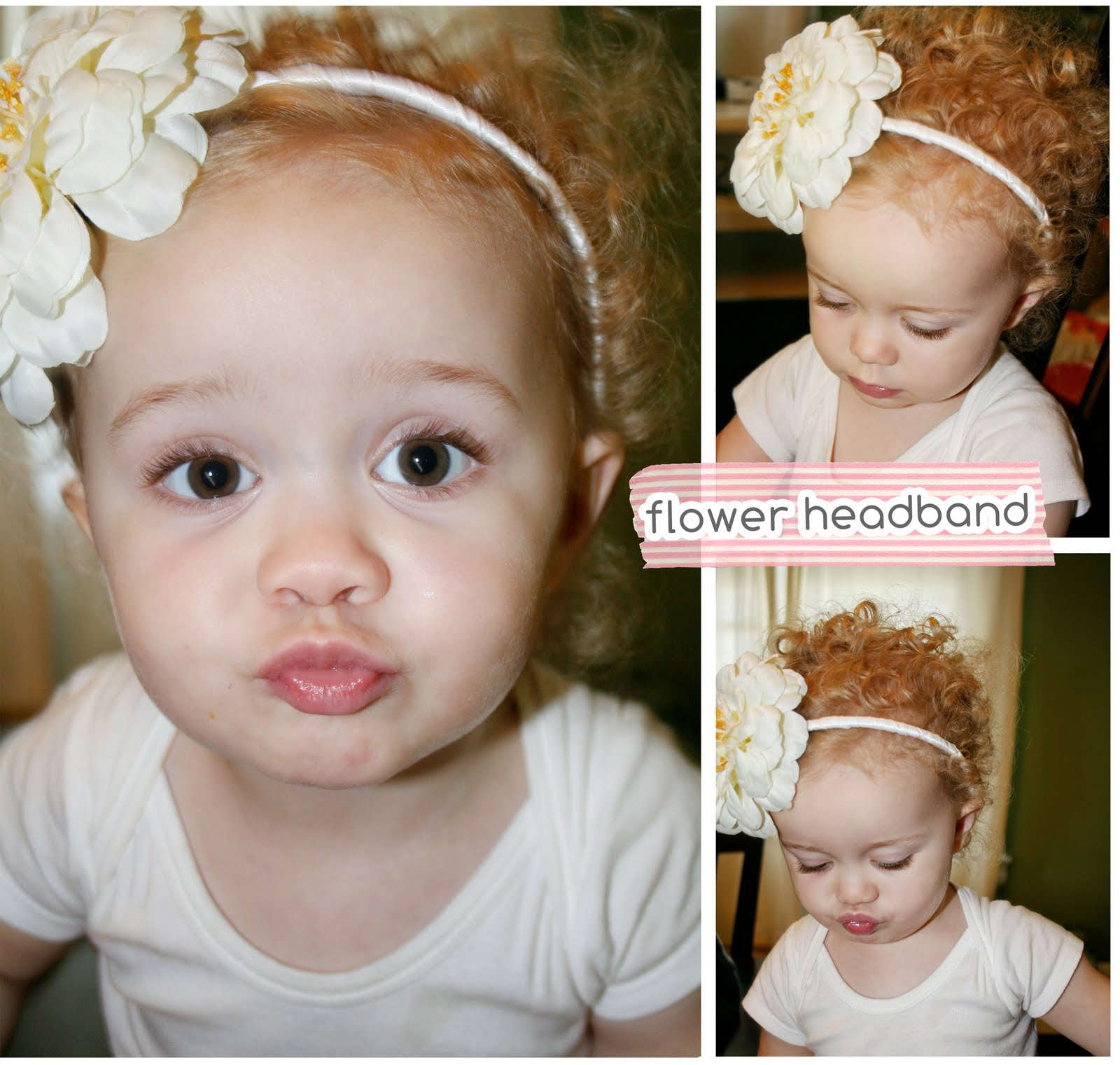 Sophia LOVES to wear my headbands…so i figured i would make some of her  own. a fun little DIY Project.  ) I ran over to Michael s to get my  crafting fix and ... f8d2150d487