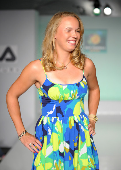 Danish Tennis Star Caroline Wozniacki Hot Pics  Female -4425