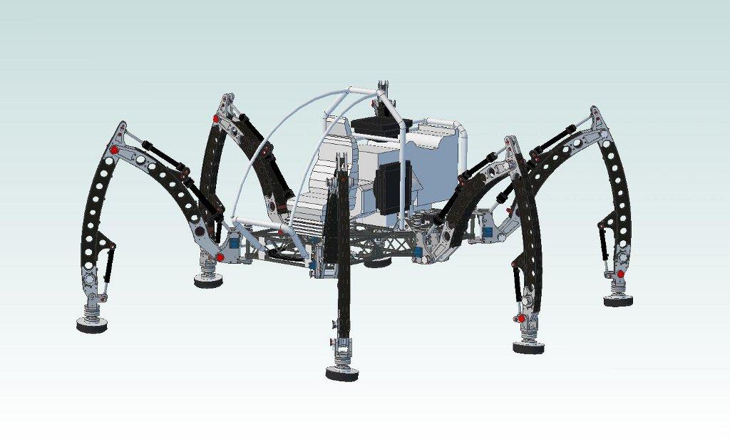 Mantis Hexapod Build Diary: July 2010