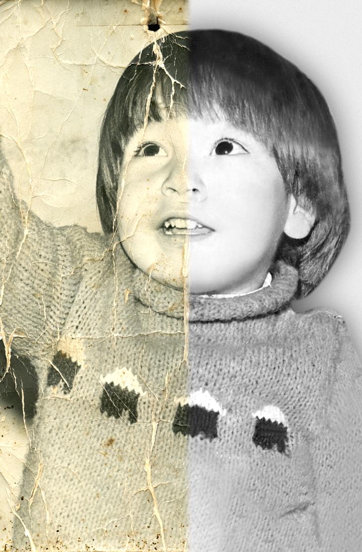 Fotografias De Stock Samiramay: MarionAudioVisual: Restauración De Fotografías Antiguas O