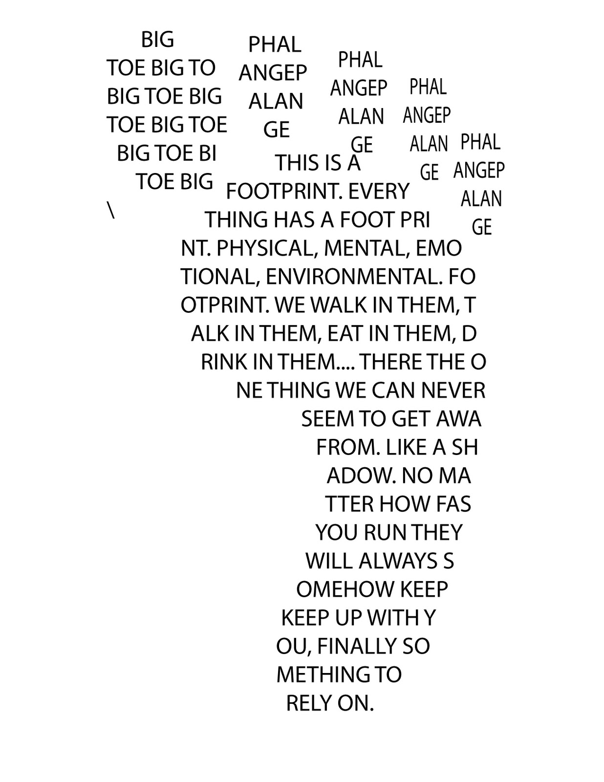 Write a Concrete Poem For Mom