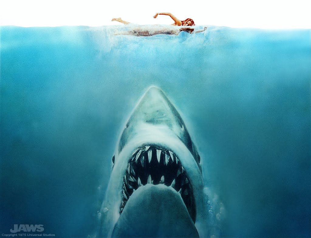 Shark phobia: The memory of Jaws continues to scare swimmers away from the ocean