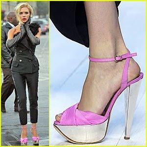 CLASE BAJA DE BASURA zapatos para las mujeres de cerdos que son grotescos