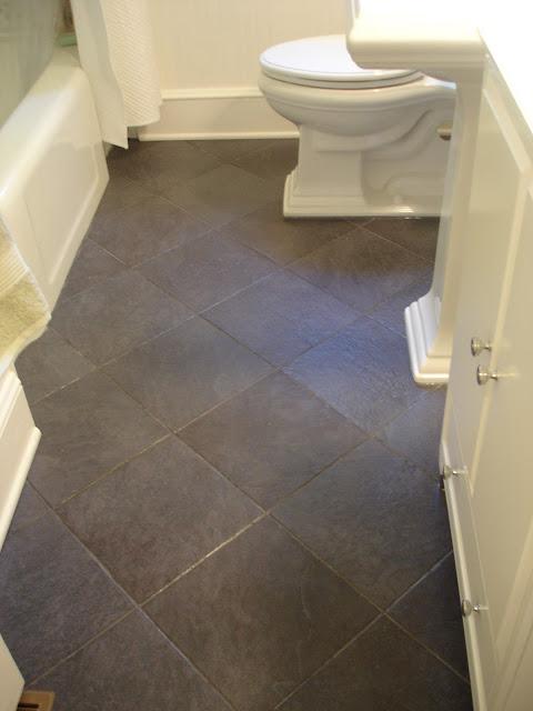 Bathroom Renovation Sand And Sisal - 1940s bathroom floor tile