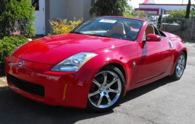 virginia beach used cars 2004 nissan 350z convertible for sale. Black Bedroom Furniture Sets. Home Design Ideas