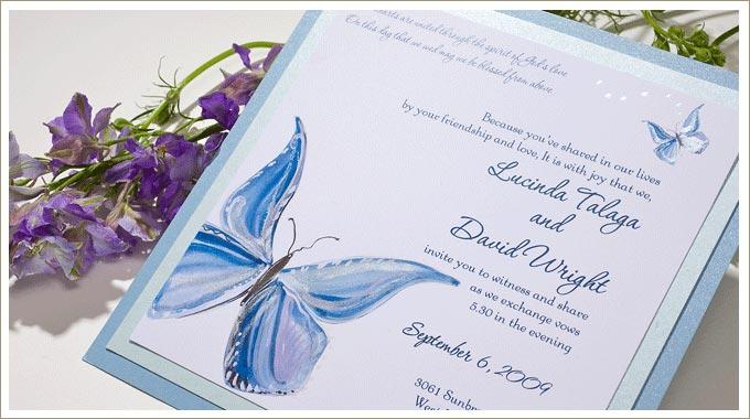 Wedding Butterfly Invitations: Misshollybeth: Wedding Planning Beginning