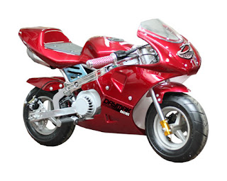About The 49cc Pocket Bike: Information About The 49cc