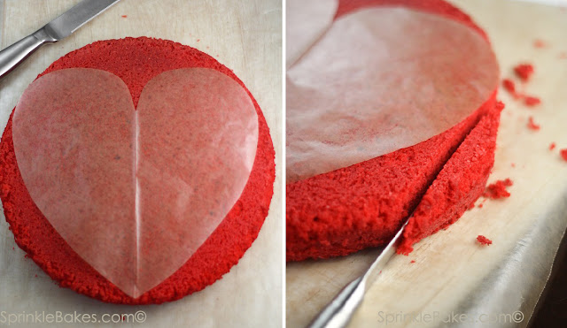 Making Red Velvet Cake Cookie From Cake Mix