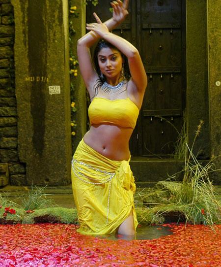 Shriya Hot Navel Show